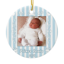 Prince Louis Ceramic Ornament