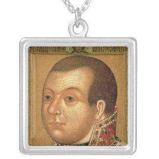 Prince M. V. Skopin-Shuyski , early 17th century Silver Plated Necklace