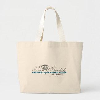 Prince of Cambridge: George Alexander Louis Large Tote Bag
