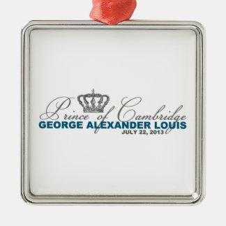 Prince of Cambridge: George Alexander Louis Metal Ornament