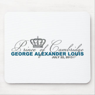Prince of Cambridge: George Alexander Louis Mouse Pad