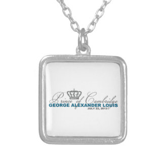 Prince of Cambridge: George Alexander Louis Silver Plated Necklace