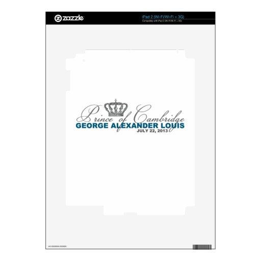 Prince of Cambridge: George Alexander Louis iPad 2 Skin