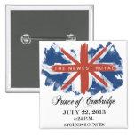 Prince of Cambridge Souvenir Button