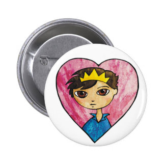 Prince of Hearts Pinback Button