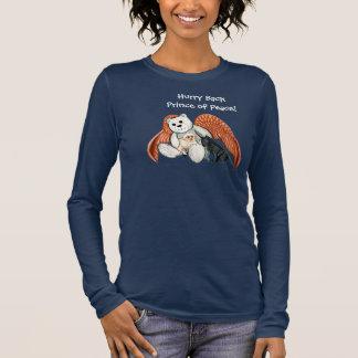 Prince of Peace Angel Bear Long Sleeve T-shirt