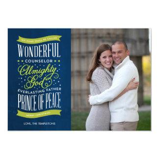 Prince of Peace Christmas Photo Card