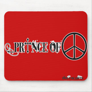 Prince of Peace (maroon) Mouse Pads