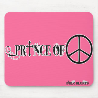 Prince of Peace (pink) Mouse Pad