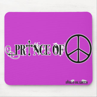 Prince of Peace (purple) Mouse Pad
