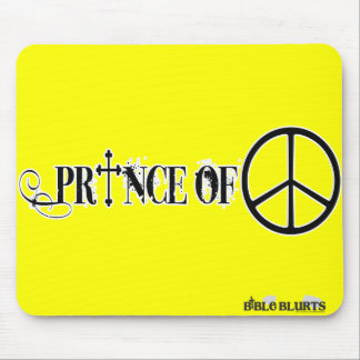 Prince of Peace (yellow) Mouse Pad
