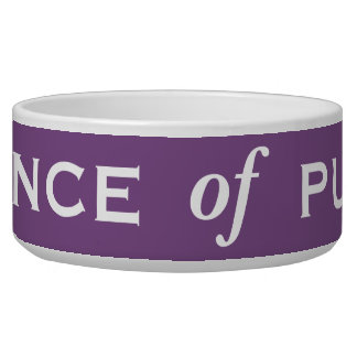 Prince of Pusses Special Funny Male Cat Name Bowl