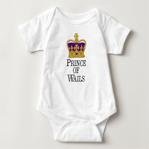Prince of Wails kiddie shirt