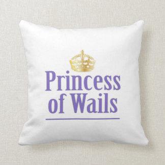 Prince of Wails / Princess of Wails Throw Pillow