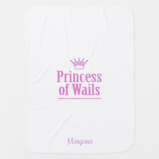 Prince of Wails / Princess of Wails (Wales) Baby Blanket