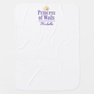 Prince of Wails / Princess of Wails (Wales) Stroller Blanket
