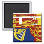 Prince Of Wales, United Kingdom flag Refrigerator Magnet