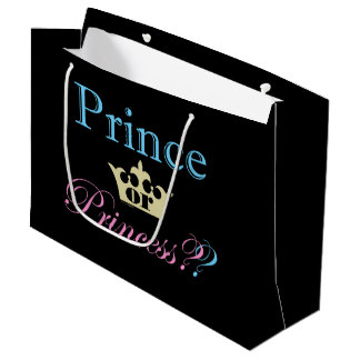 Prince or Princess? Large Gift Bag