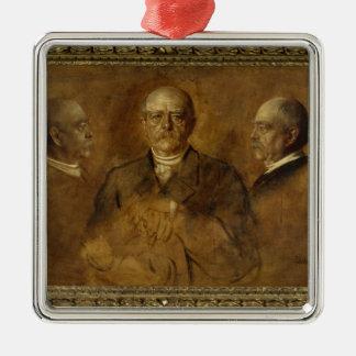Prince Otto von Bismarck, 1884 Metal Ornament