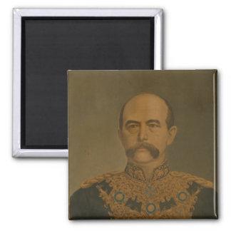 Prince Otto Von Bismarck en el uniforme del diplom Imán Cuadrado