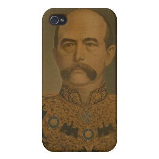 Prince Otto Von Bismarck en el uniforme del diplom iPhone 4/4S Fundas