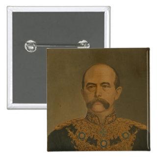 Prince Otto von Bismarck in Diplomat's Uniform Pinback Button