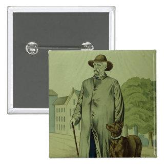 Prince Otto von Bismarck in Friedrichsruh 2 Inch Square Button