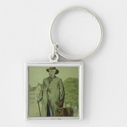 Prince Otto von Bismarck in Friedrichsruh Key Chains
