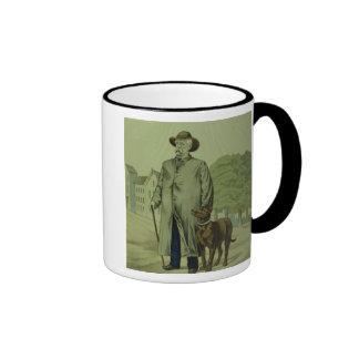 Prince Otto von Bismarck in Friedrichsruh Ringer Mug