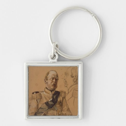 Prince Otto von Bismarck Key Chain