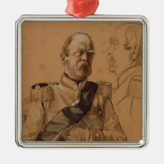 Prince Otto von Bismarck Metal Ornament