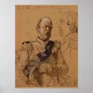 Prince Otto von Bismarck Poster