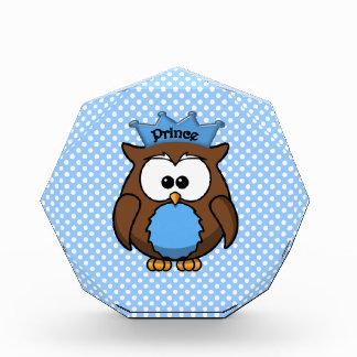 Prince owl acrylic award