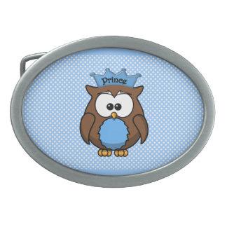 Prince owl belt buckles