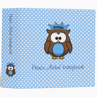 Prince owl binder