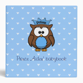 Prince owl vinyl binder