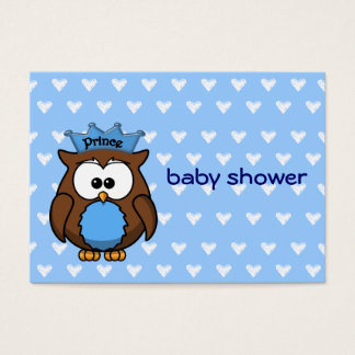 prince owl business card