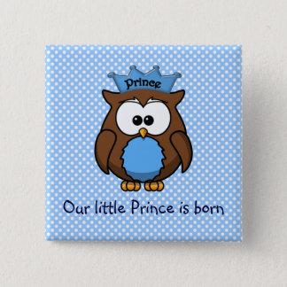 Prince owl button