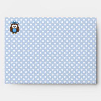 Prince owl envelope