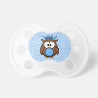 Prince owl BooginHead pacifier