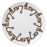 Prince Paulson - Seven Deadly Sins - ENVY Party Plates