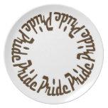 Prince Paulson - Seven Deadly Sins - PRIDE Dinner Plates