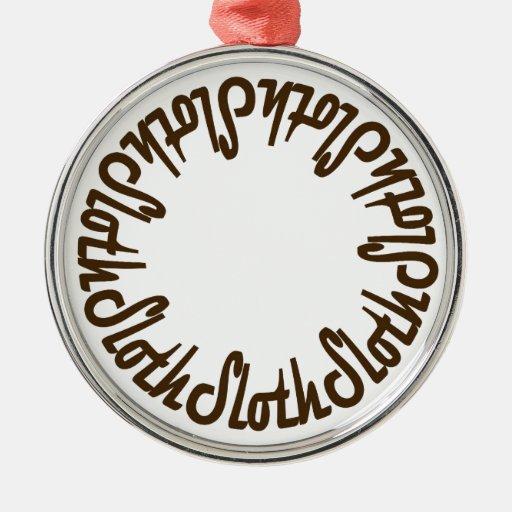 Prince Paulson - Seven Deadly Sins - SLOTH Christmas Tree Ornament