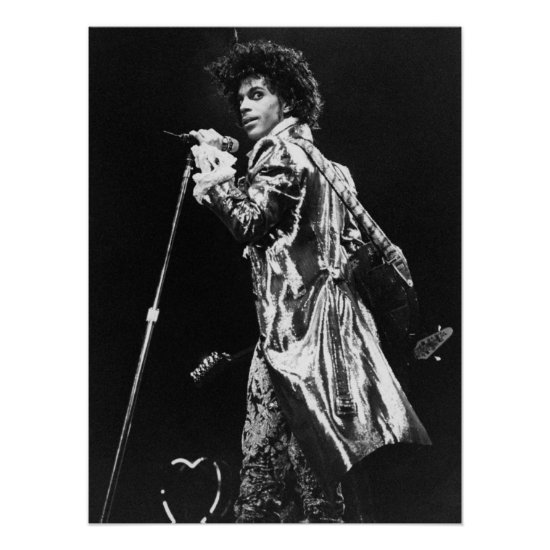 Prince   Performing at The Forum Inglewood, CA Poster