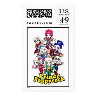 Prince Poppycock Stamps