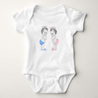 Prince Princess Baby Baby Bodysuit