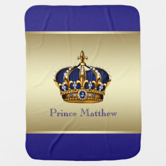 Prince Receiving Blanket