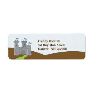 Prince Return Address Label