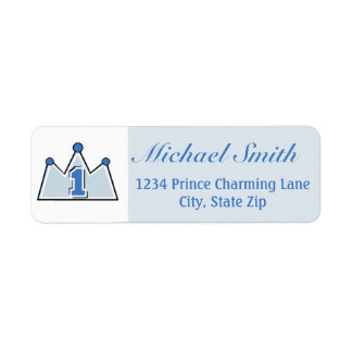 Prince Return Address Label