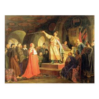 Prince Roman of Halych-Volhynia Postcard